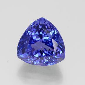 Blue Tanzanite 75 Carat Trillion from Tanzania Gemstone