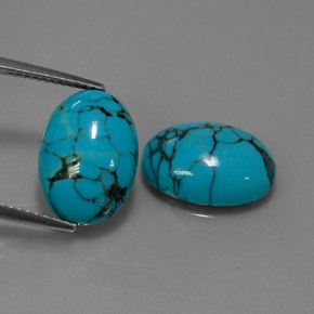 Turquoise 71 Carat Oval From Afghanistan Gemstones