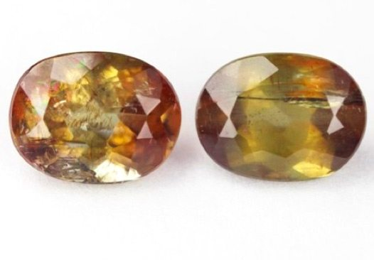 305ct Pair Of Natural Andalusite Loose Gemstone GemsForSale