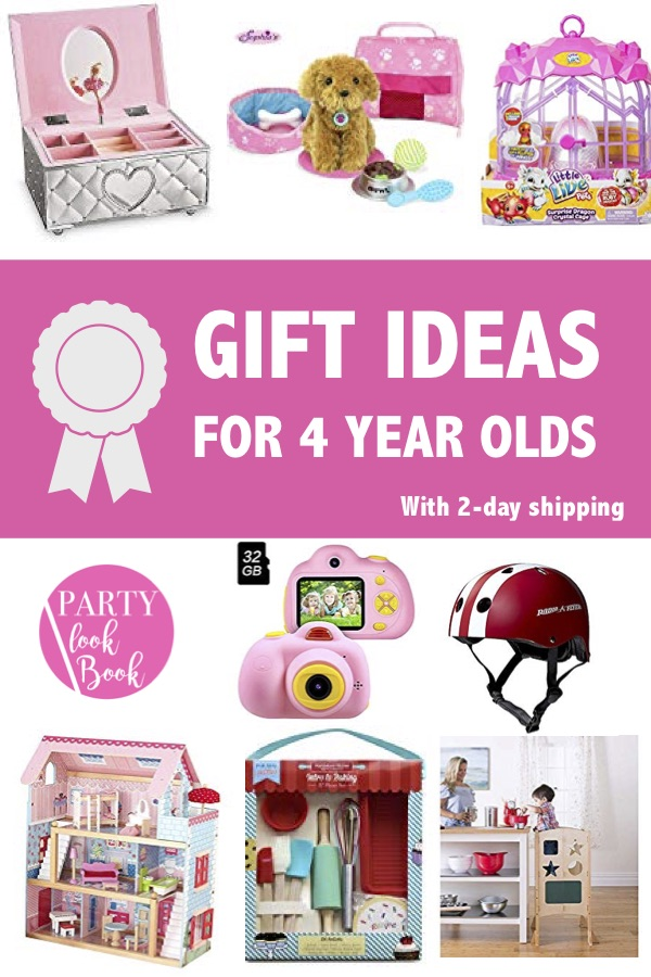 4 Year Old Gift Ideas - Gift ideas for 4 year old Girls ...