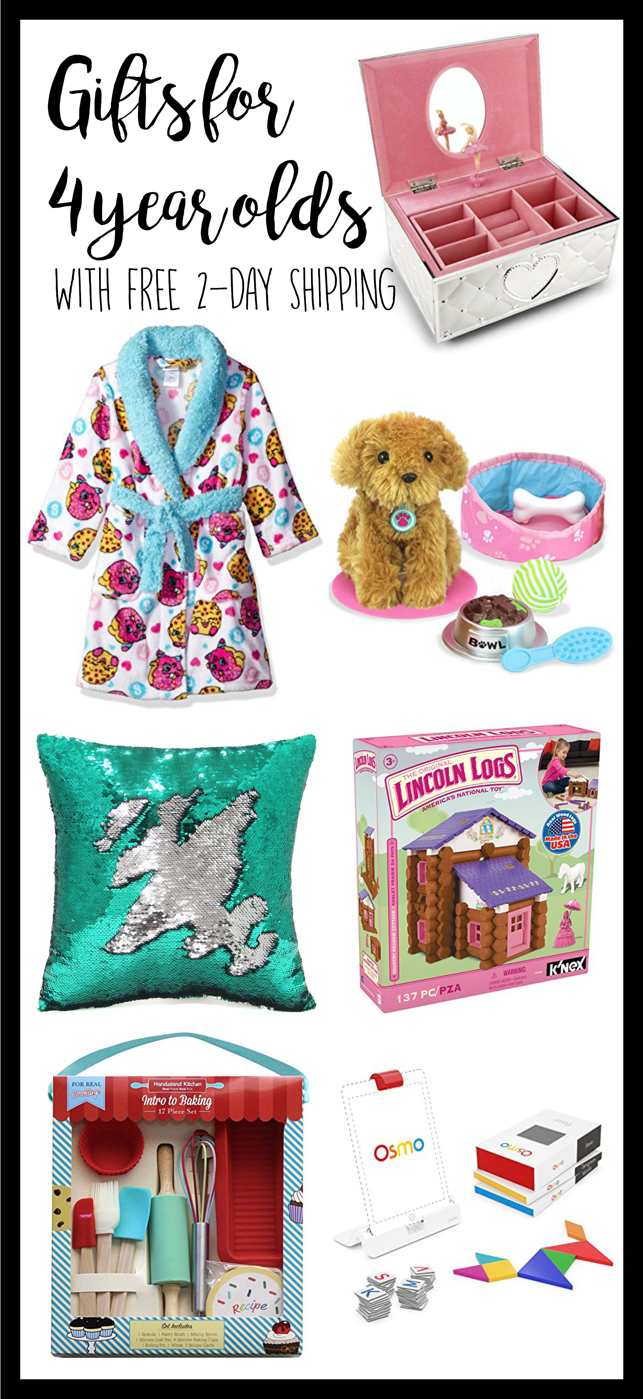 4 Year Old Gift Ideas For Girls Birthday Christmas