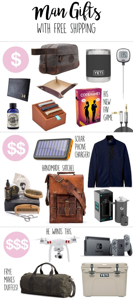 gift ideas for men boyfriends husbands brothers friends