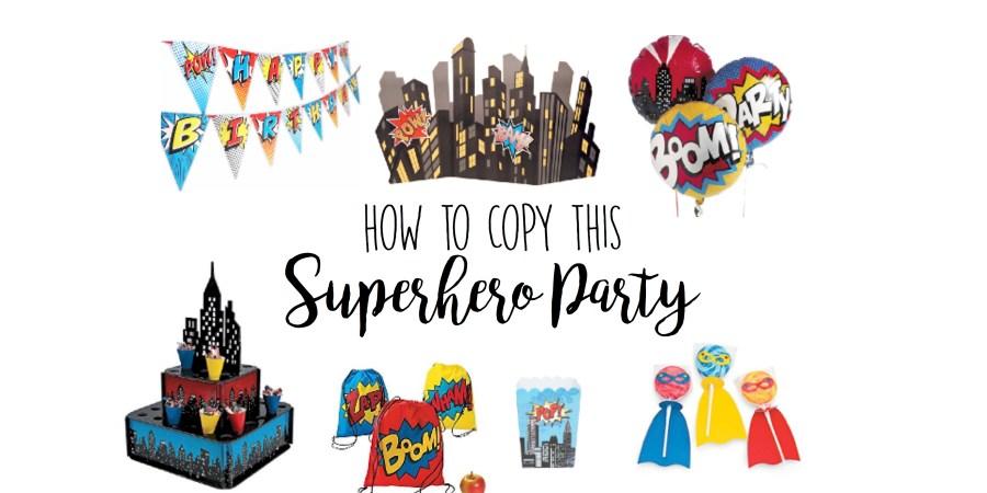 Superhero Birthday Ideas Cutest Ideas Starting At 3
