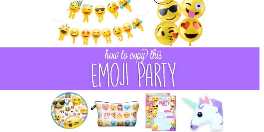 Emoji Birthday Party Theme Ideas - Cutest Emoji Ideas and
