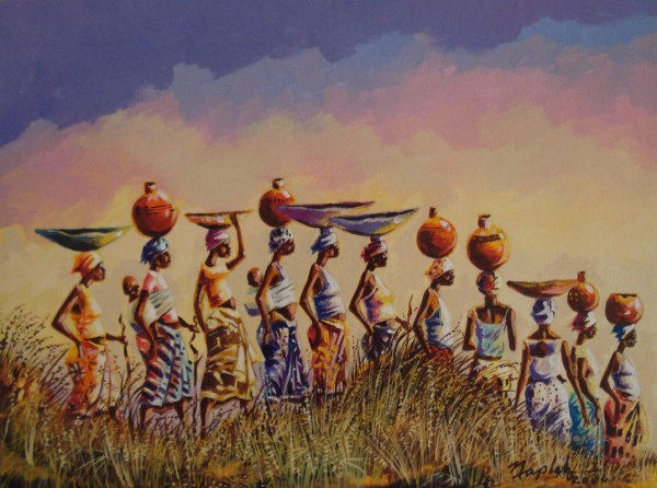 Liberian Artist Naplah . - Gems Of Africa