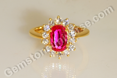 Natural Unheated Ruby Ruby Astrology Ruby Rings