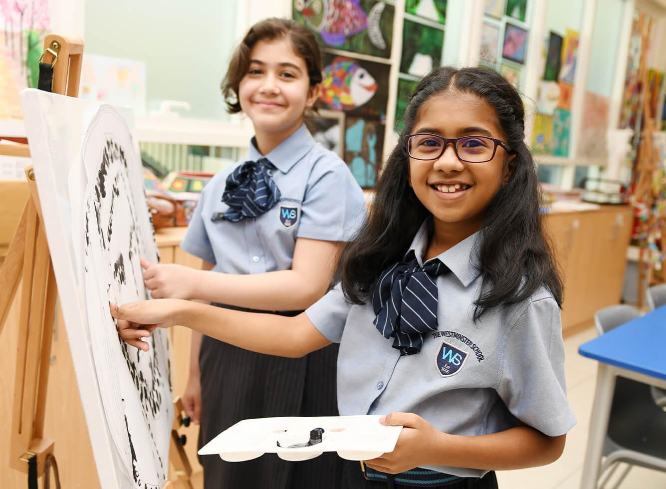 hight resolution of GEMS Westminster School - Sharjah