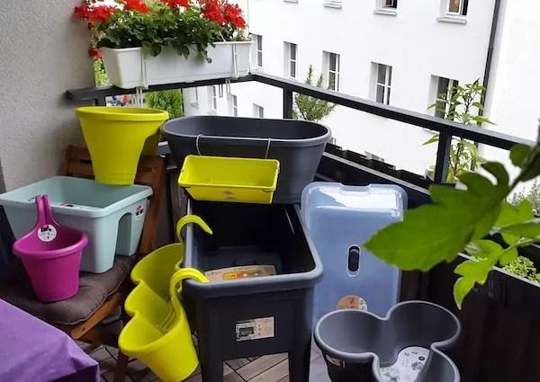 Blumenkasten Topfe Und Hochbeet Von Elho Gemuse Balkon