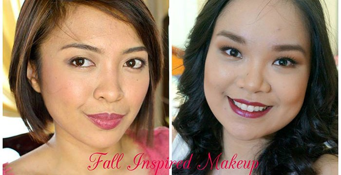 Fall Inspired Makeup - Genzel Kisses (c) - Collab with Charlene Tan of Yellow Yum