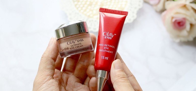 Olay Eyes Review Photos Before and After - She Sings Beauty by Gen-zel Habab