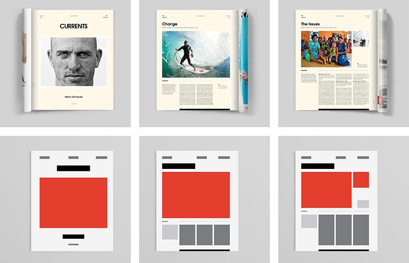 Modernleştirilmiş Dergi Tasarımları Genç Grafiker