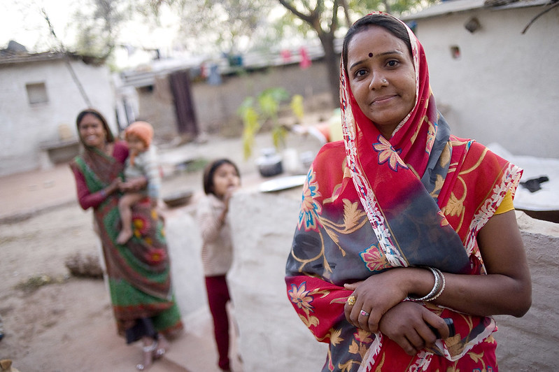 Rekha Rewat, accredited social health activist, or asha, in India