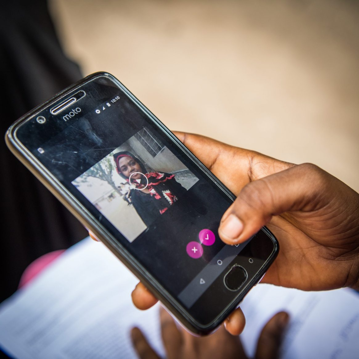 Mobile phone tech to support the mental health of girls