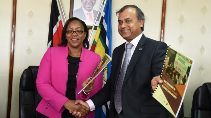 HISTORIC SIGNING OF THE GOK/UN JOINT PROGRAM ON PREVENTION AND RESPONSE TO GENDER BASED VIOLENCE