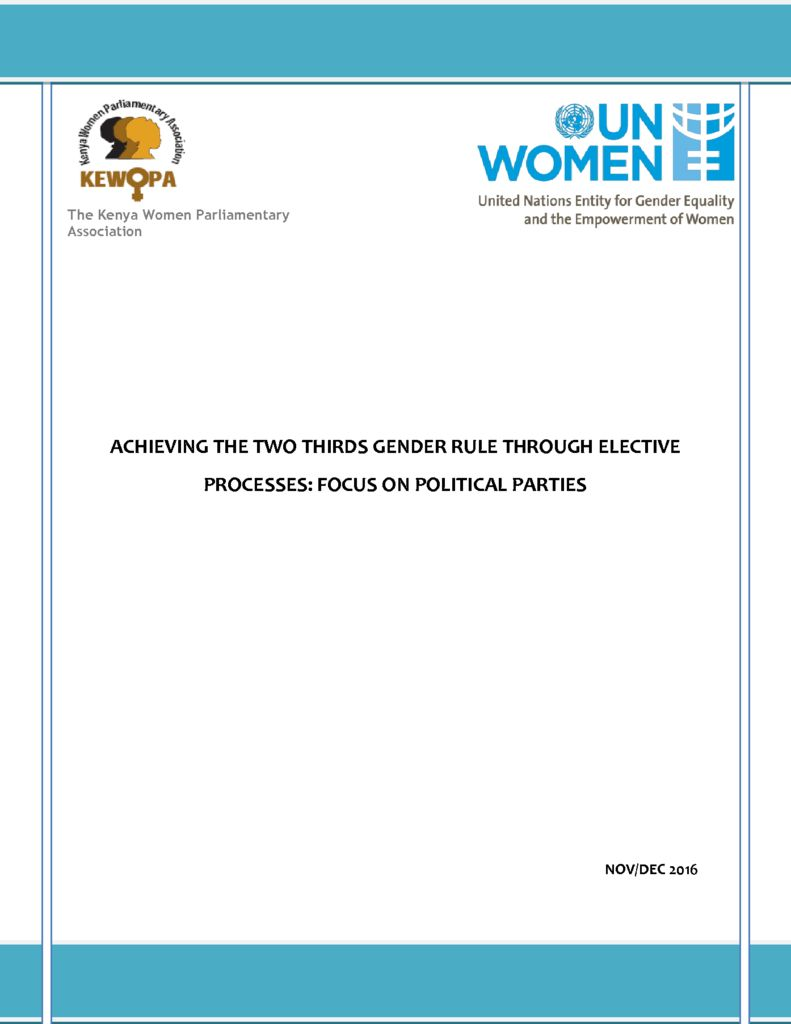 thumbnail of ACHIEVING THE TWO THIRDS GENDER RULE THROUGH ELECTIVE PROCESSES-1