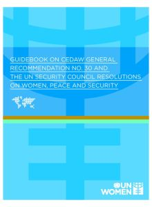 Thumbnail Of Guidebook-CEDAWGeneralRecommendation30-WomenPeaceSecurity-en