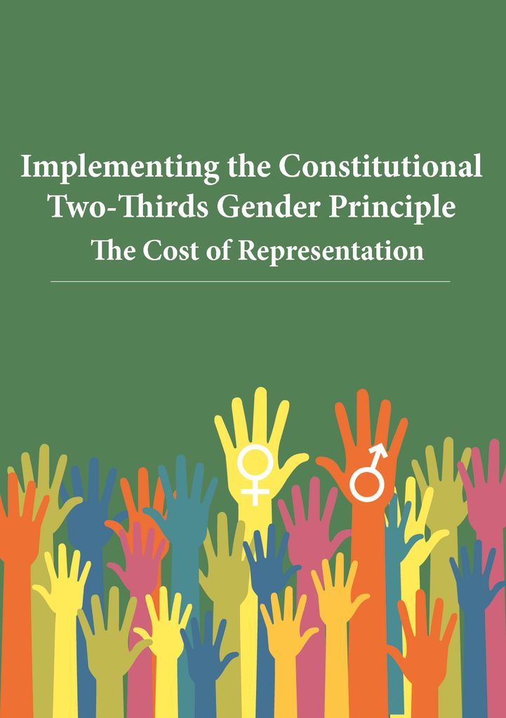 thumbnail of Implementing the Constitutional Two Thirds Gender Principle The Cost of Representation