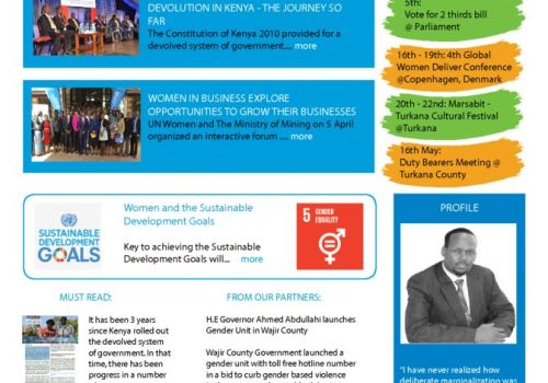 Thumbnail Of UN Women Kenya News_April Issue 005