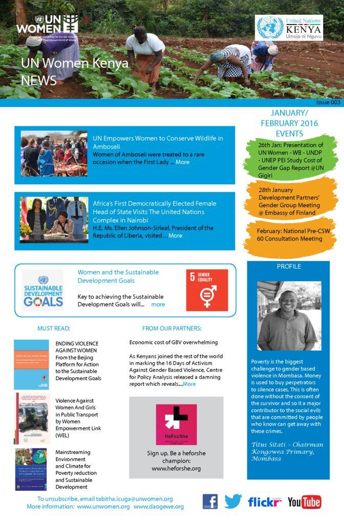 thumbnail of UN Women Kenya News_Issue 003