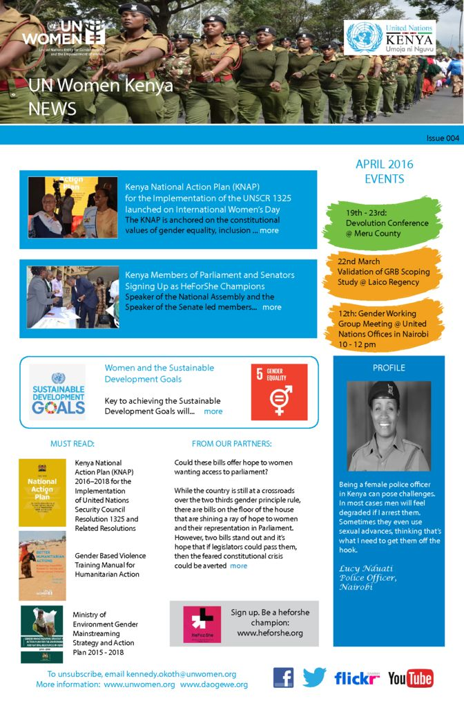 thumbnail of UN Women Kenya News_Issue 004