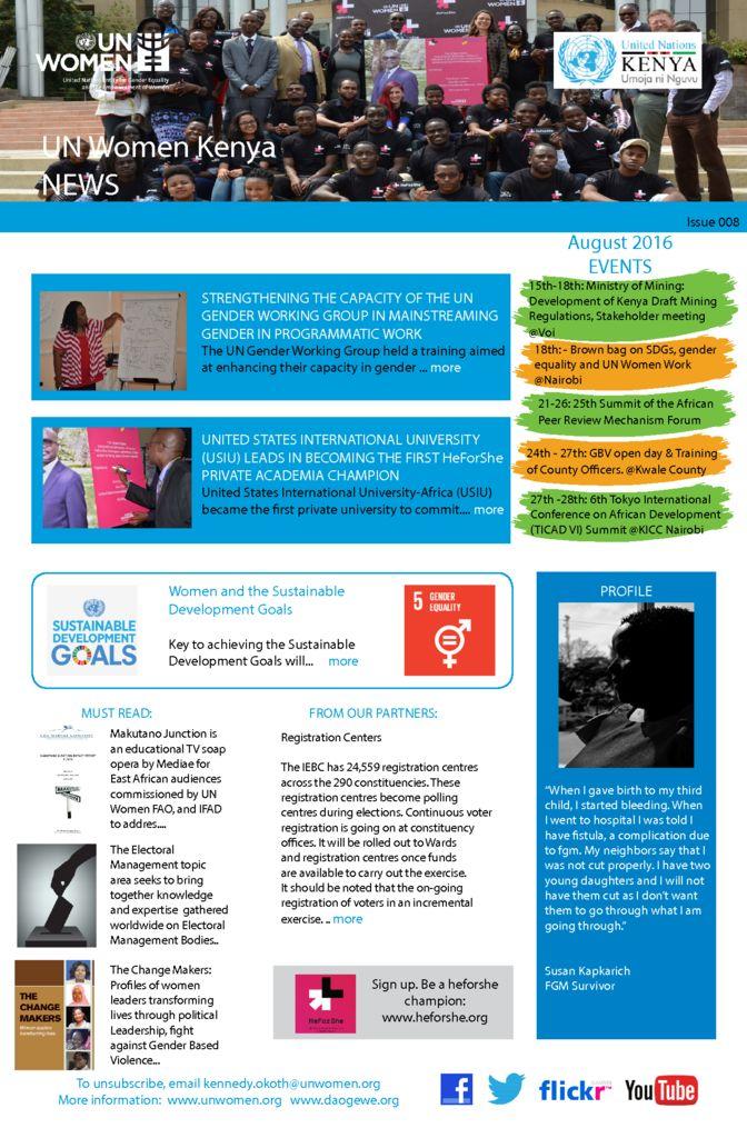 thumbnail of UN Women Kenya News_Issue 008