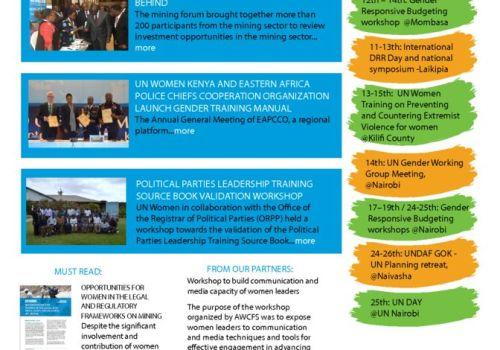 Thumbnail Of UN Women Kenya News_Issue 011