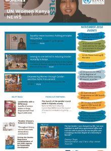 Thumbnail Of UN Women Kenya News_Issue 012