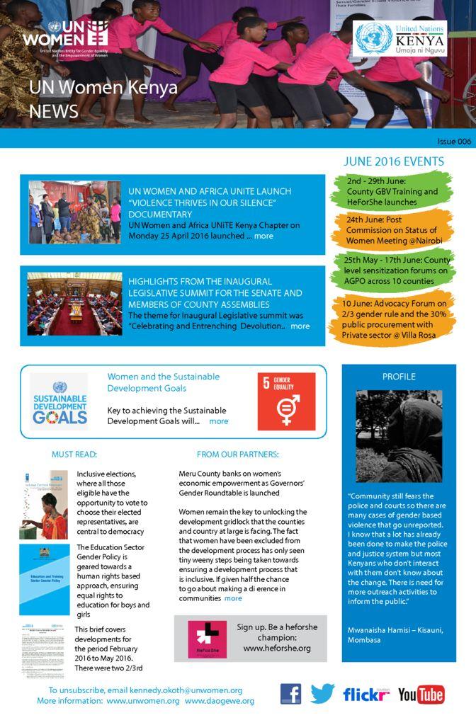 thumbnail of UN Women Kenya News_May Issue 006