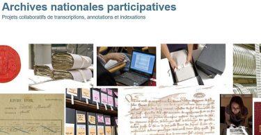 Archives nationales participatives