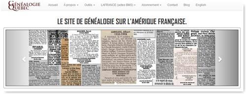 Actualité genealogie novembre 2017 - Genealogie quebec