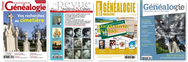 Magazines de généalogie