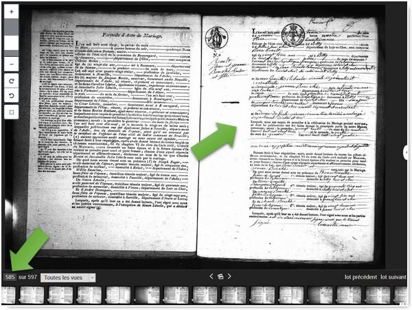 Genealogistes Utilisez Les Actes_Archives 41 Acte de mariage