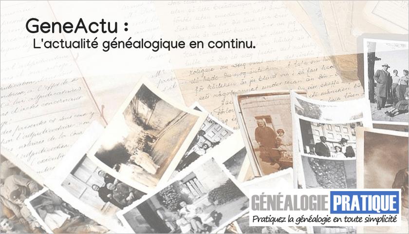 GeneActu - Le flux d'actualité généalogique