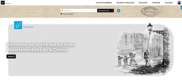 Archives départementales de la Drôme