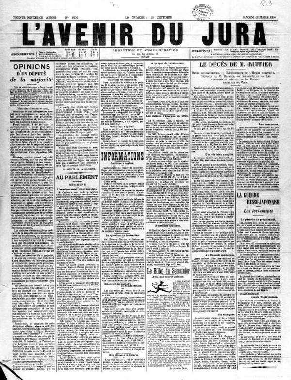 Pourquoi consulter les sites des archives départementales - Presse ancienne