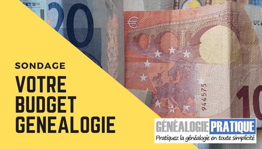 Sondage Budget Genealogie 840x480
