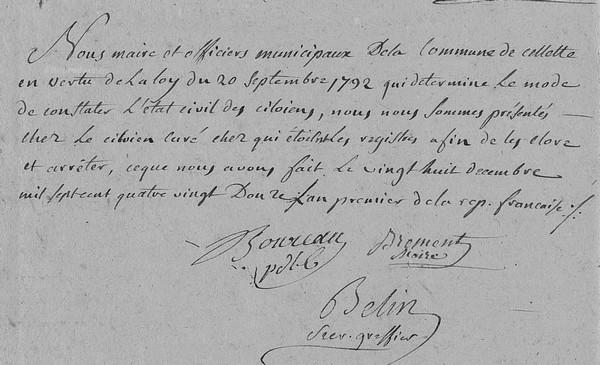Calendrier Revolutionnaire Conversion.Calendrier Republicain Genealogie