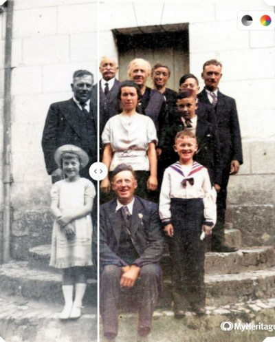 MyHeritage In Color - Famille Monpouet