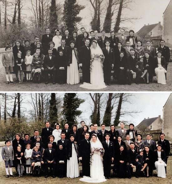MyHeritage In Color - Avant Après