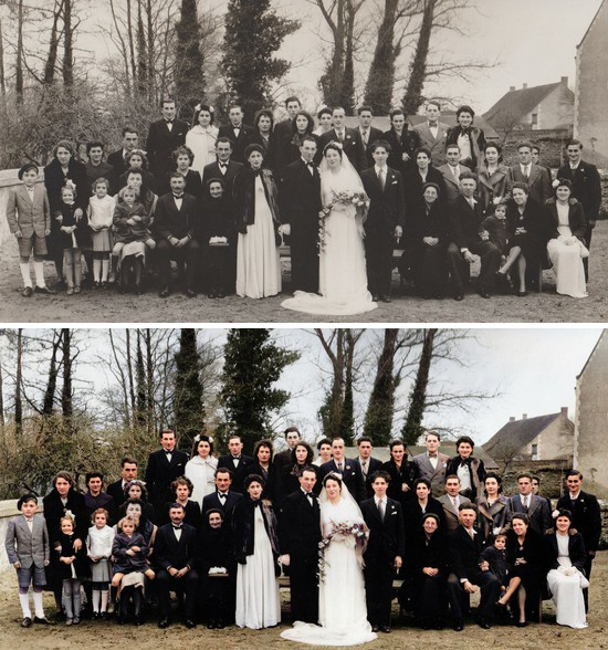 MyHeritage In Color - Avant Après