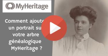 Comment ajouter un portrait sur votre arbre généalogique MyHeritage