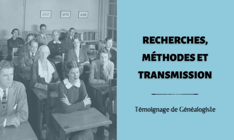 Recherches Méthodes et transmission