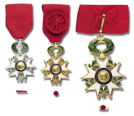 Base Leonor - Médailles légion d'honneur