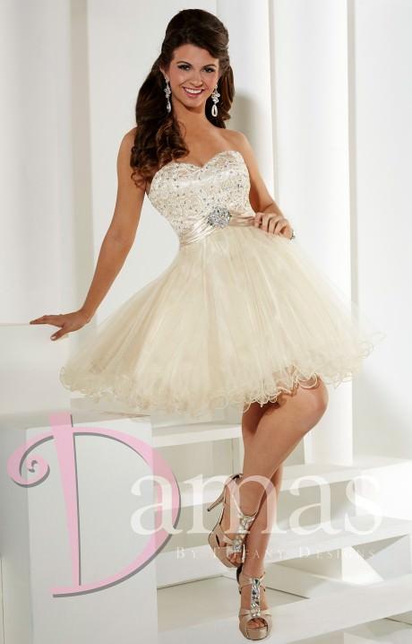Damas 52334  The Little Queen Prom Dress