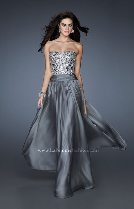 La Femme 18026  Regal Diva Prom Dress