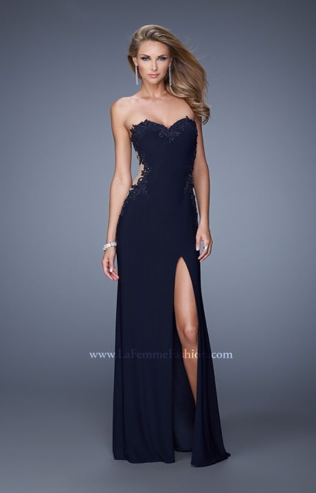 La Femme 20972  The Barely There Gown Prom Dress