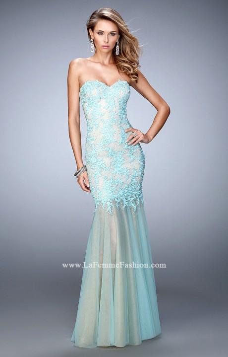 La Femme 21604  The Ariel Gown Prom Dress