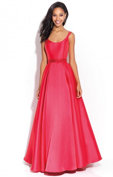 Jovani Red Mermaid Dress