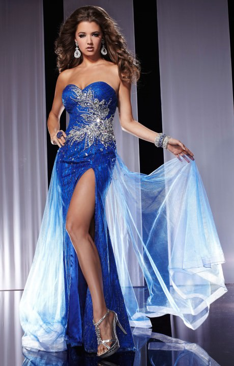 Panoply 14551  The Winter Wonderland Gown Prom Dress