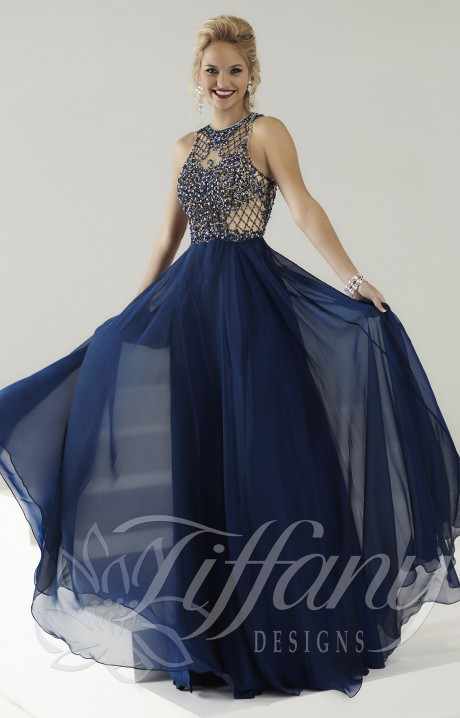 Tiffany Designs 16157  The One That Got Away Gown Prom Dress